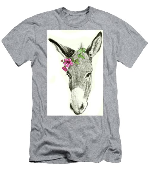 Beautiful Donkey Men's T-Shirt (Slim Fit) by Heidi Kriel