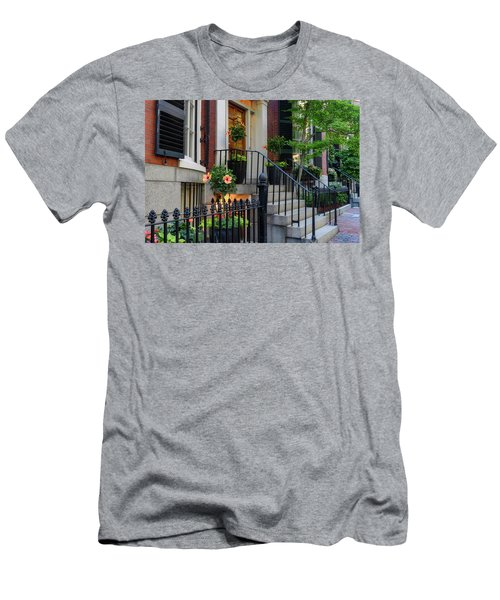 Men's T-Shirt (Athletic Fit) featuring the photograph Beautiful Entrance by Michael Hubley