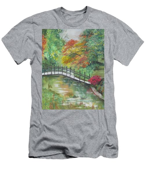 Beautiful Garden Men's T-Shirt (Athletic Fit)