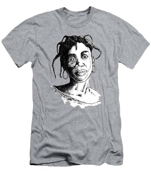 Beautiful Girl Men's T-Shirt (Athletic Fit)