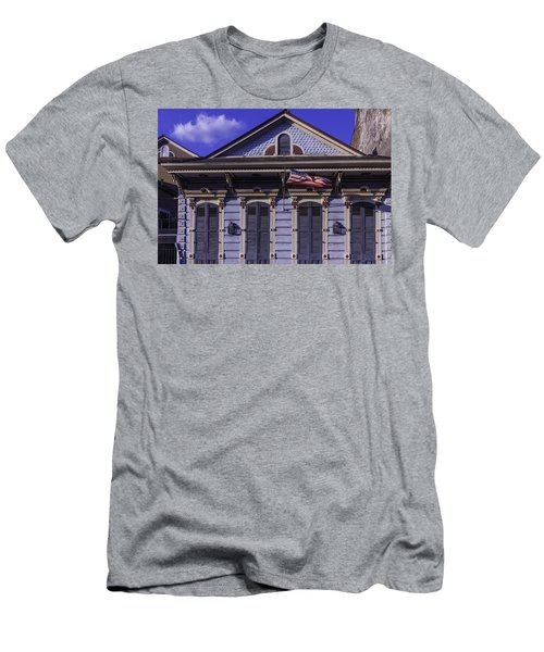 Beautiful House French Quarter Men's T-Shirt (Athletic Fit)
