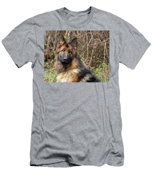Men's T-Shirt (Slim Fit) featuring the photograph Beautiful Jessy by Sandy Keeton