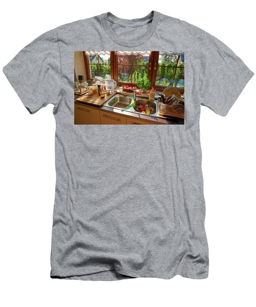 Men's T-Shirt (Athletic Fit) featuring the photograph Beautiful Miscellaneous by Tgchan