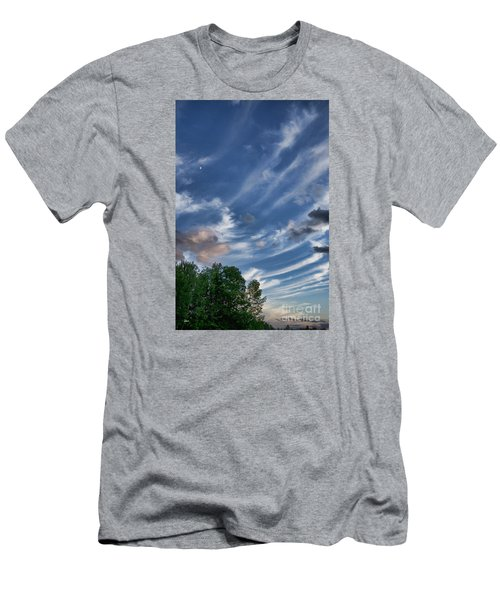 Men's T-Shirt (Slim Fit) featuring the photograph Beautiful Sky by Alana Ranney