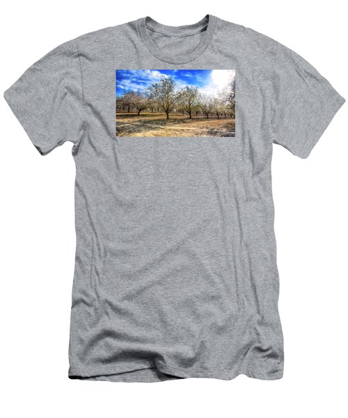 Beautiful Spring Garden  Men's T-Shirt (Athletic Fit)