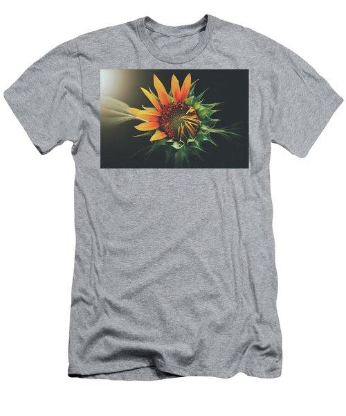 Beautiful Sunflower Men's T-Shirt (Athletic Fit)