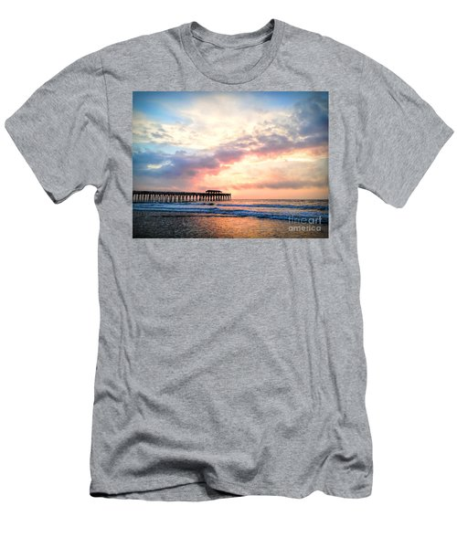 Beautiful Sunrise In Myrtle Beach South Carolina Usa Men's T-Shirt (Slim Fit) by Vizual Studio