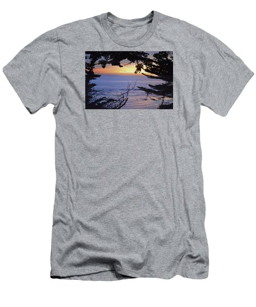 Men's T-Shirt (Slim Fit) featuring the photograph Beautiful Sunset by Alex King