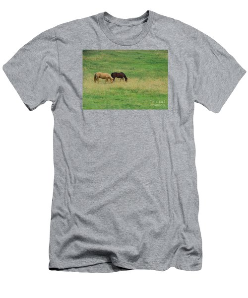 Men's T-Shirt (Slim Fit) featuring the photograph Beautiful by Yumi Johnson