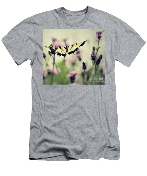 Men's T-Shirt (Slim Fit) featuring the photograph Beauty And Grace  by Kerri Farley