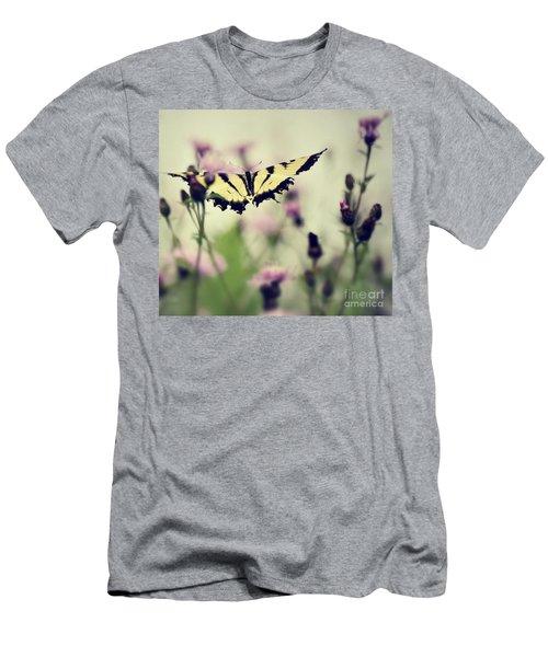 Beauty And Grace  Men's T-Shirt (Slim Fit) by Kerri Farley