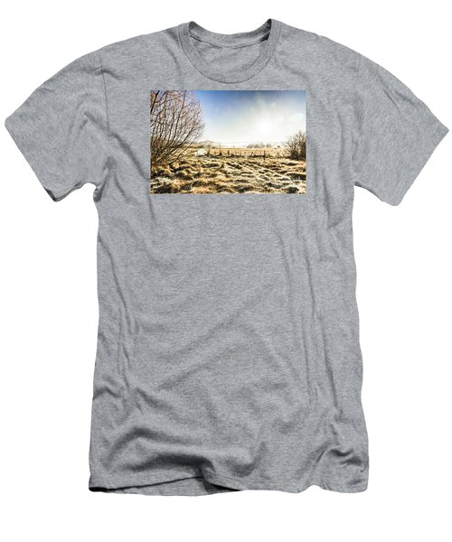 Beauty In Rural Winters Men's T-Shirt (Athletic Fit)