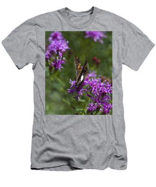Beauty In The Garden Men's T-Shirt (Slim Fit) by Nikki McInnes
