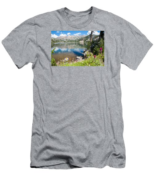 Beauty Lake Men's T-Shirt (Athletic Fit)