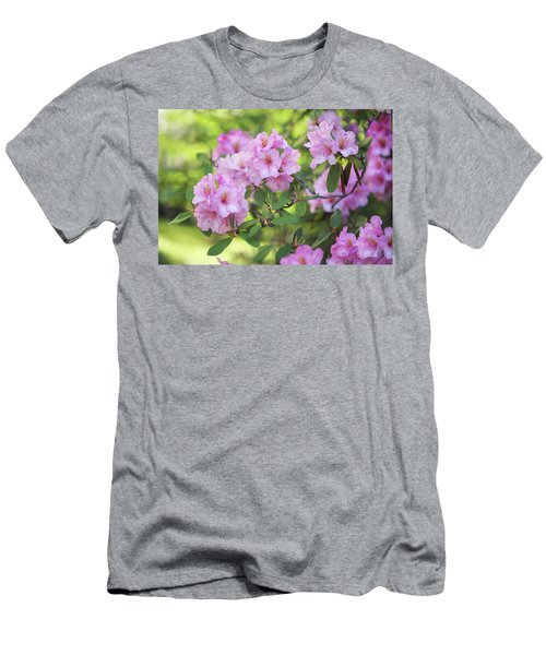Beauty Of Pink Rhododendron Men's T-Shirt (Athletic Fit)