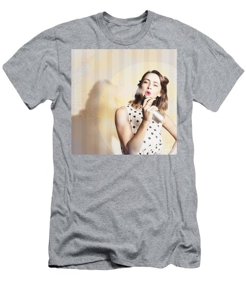 Beauty Parlour Pinup Men's T-Shirt (Athletic Fit)