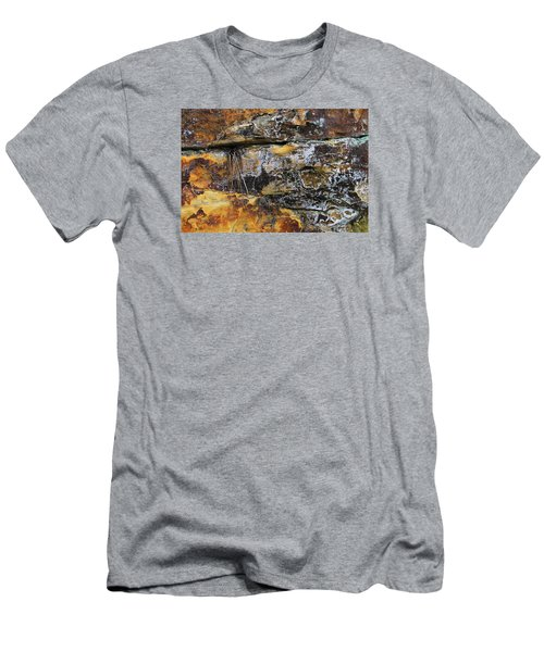 Men's T-Shirt (Athletic Fit) featuring the digital art Bedrock by Julian Perry