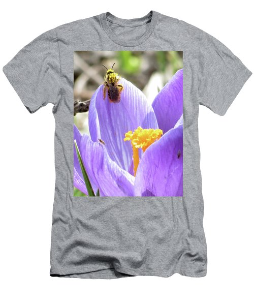 Bee Pollen Men's T-Shirt (Athletic Fit)