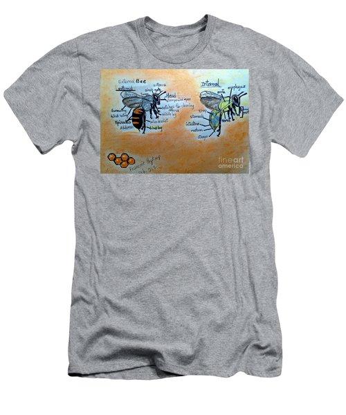 Bees  Men's T-Shirt (Slim Fit)