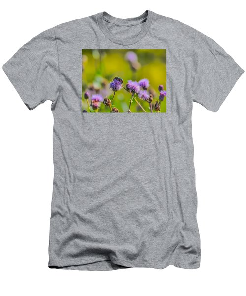 Men's T-Shirt (Slim Fit) featuring the photograph Beetle by Leif Sohlman