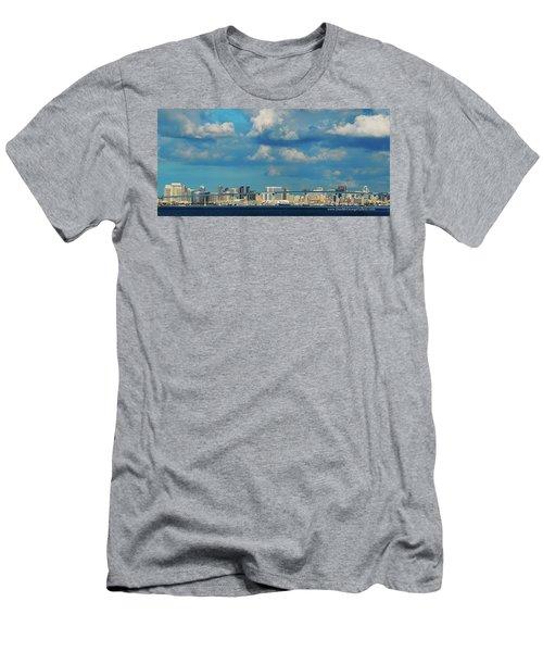 Behind The Bridge Men's T-Shirt (Athletic Fit)