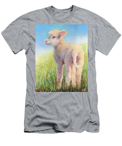 Behold The Lamb Men's T-Shirt (Athletic Fit)
