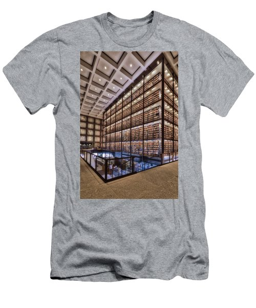 Beinecke Rare Book And Manuscript Library Men's T-Shirt (Athletic Fit)