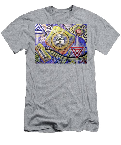 Beit Shalom Men's T-Shirt (Slim Fit) by Luke Galutia