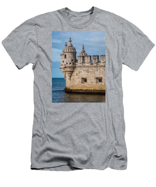 Belem Tower Men's T-Shirt (Athletic Fit)