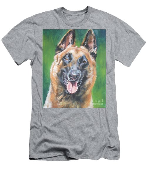 Belgian Malinois Smile Men's T-Shirt (Athletic Fit)