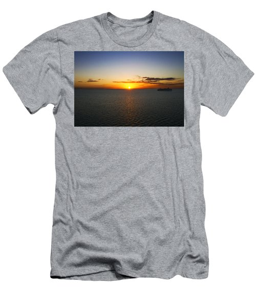 Belize Sunset Men's T-Shirt (Slim Fit) by Marlo Horne