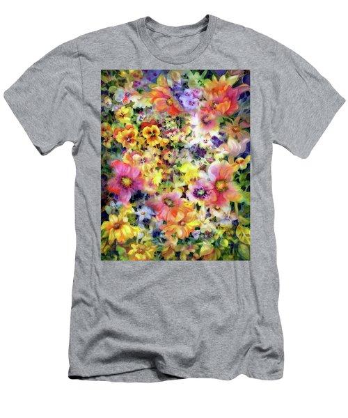 Belle Fleurs I Men's T-Shirt (Athletic Fit)