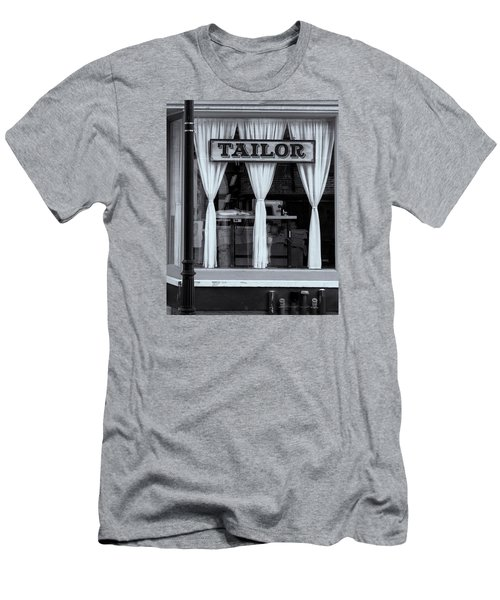 Men's T-Shirt (Athletic Fit) featuring the photograph Bellows Falls Tailor by Tom Singleton