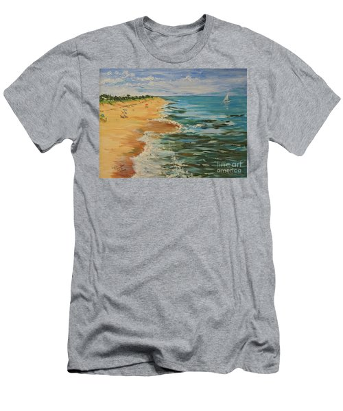 Beloved Beach - Sold Men's T-Shirt (Athletic Fit)
