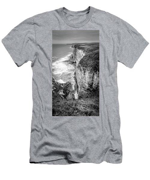 Bempton Cliffs Men's T-Shirt (Athletic Fit)