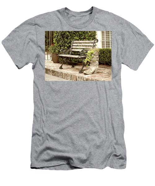 Bench And Boot 2 Men's T-Shirt (Athletic Fit)