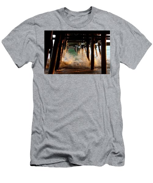 Beneath The Pier Men's T-Shirt (Athletic Fit)