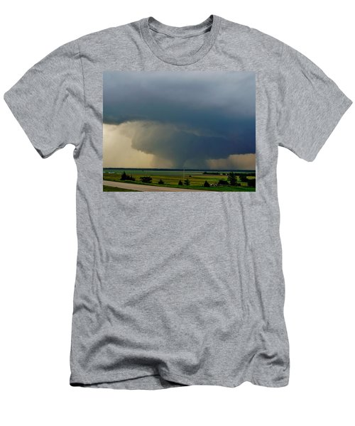 Men's T-Shirt (Athletic Fit) featuring the photograph Bennington-chapman Tornado by Ed Sweeney