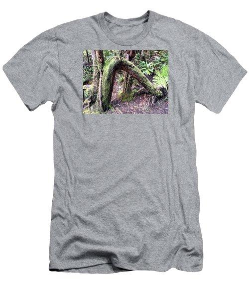Bent But Not Broken Men's T-Shirt (Slim Fit) by Russell Keating