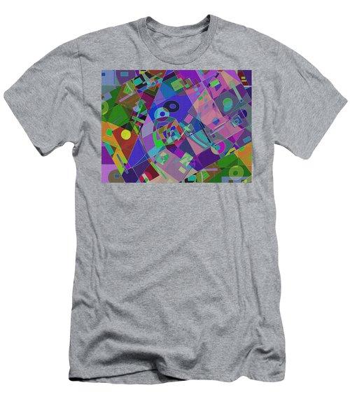 Bent Shapes 14 Men's T-Shirt (Athletic Fit)