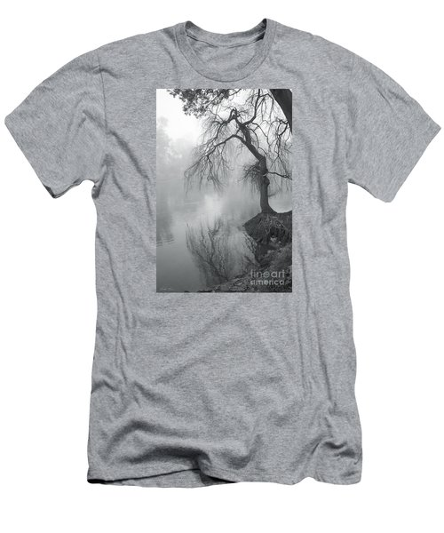 Men's T-Shirt (Slim Fit) featuring the photograph Bent With Gentleness And Time by Linda Lees