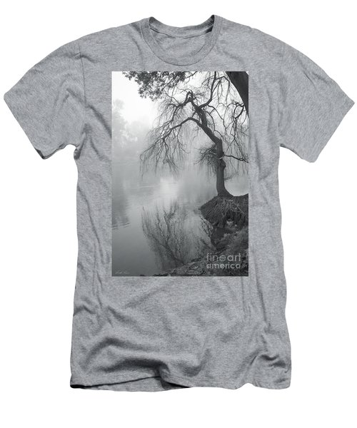 Bent With Gentleness And Time Men's T-Shirt (Athletic Fit)