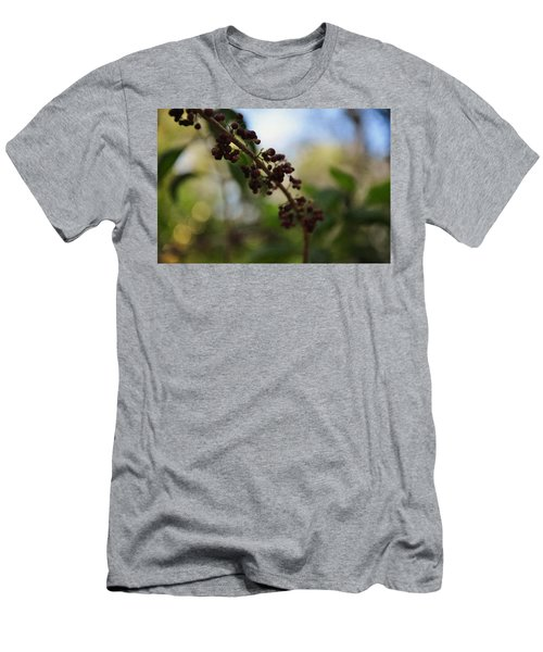 Men's T-Shirt (Slim Fit) featuring the photograph Berry Branch by Artists With Autism Inc