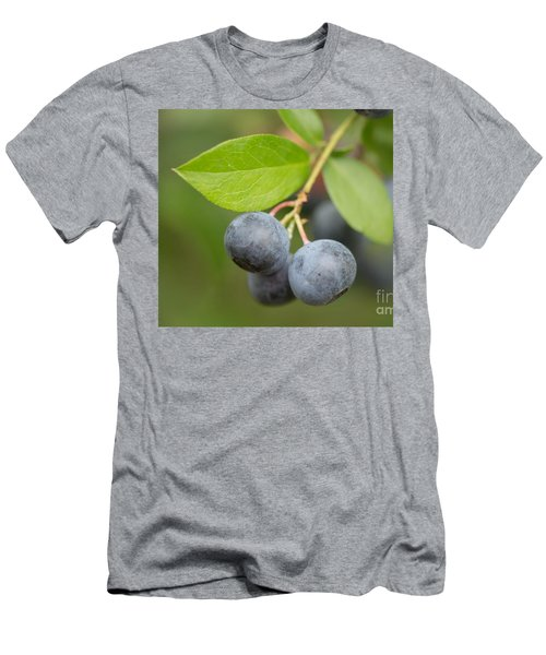 Men's T-Shirt (Slim Fit) featuring the mixed media Berrydelicious by Kim Henderson