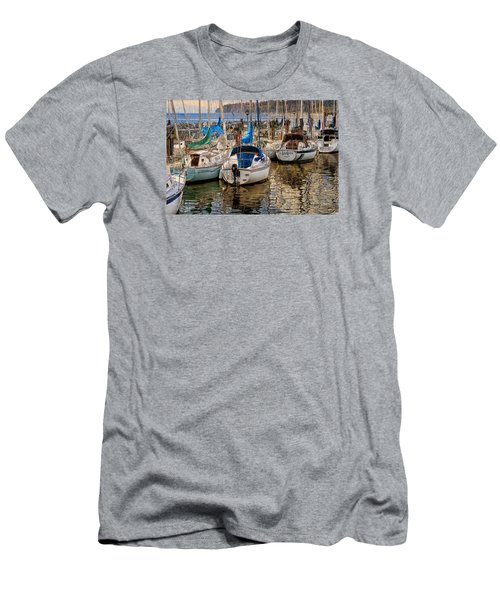 Berthed Men's T-Shirt (Slim Fit) by Ed Hall