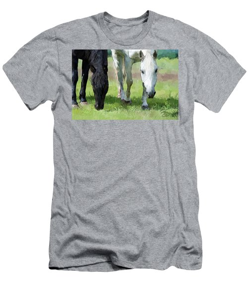 Best Buddies Men's T-Shirt (Slim Fit) by Debra Baldwin