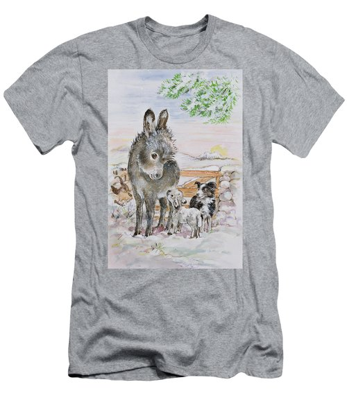 Best Friends Men's T-Shirt (Slim Fit) by Diane Matthes