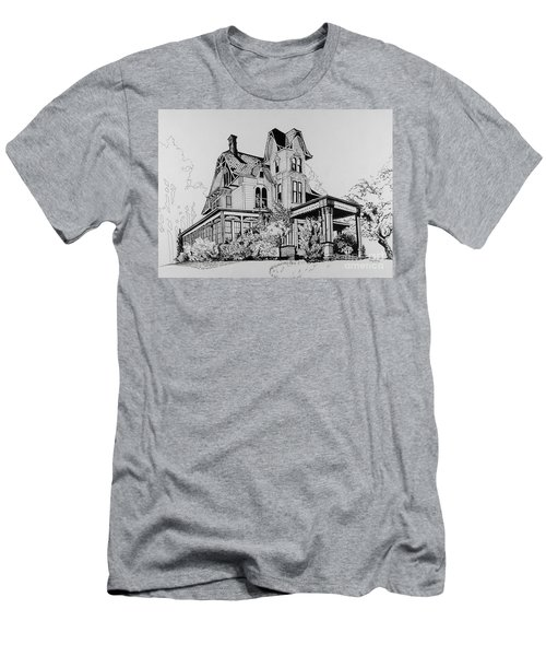 Betsy Ross' Home In Dover, N.j. Men's T-Shirt (Athletic Fit)