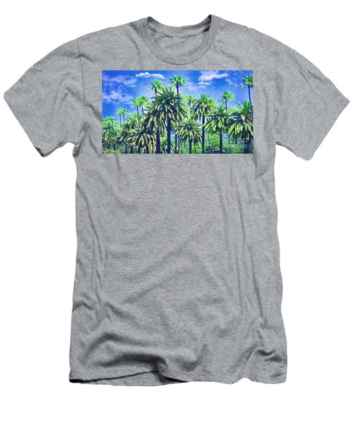Beverly Hills Palms Men's T-Shirt (Athletic Fit)