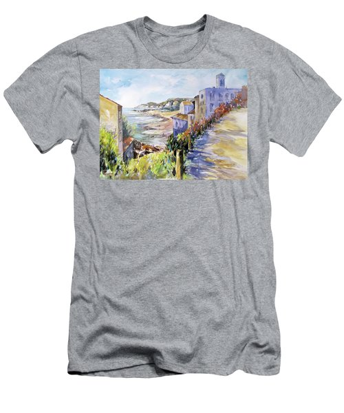 Beyond The Point Men's T-Shirt (Slim Fit) by Rae Andrews